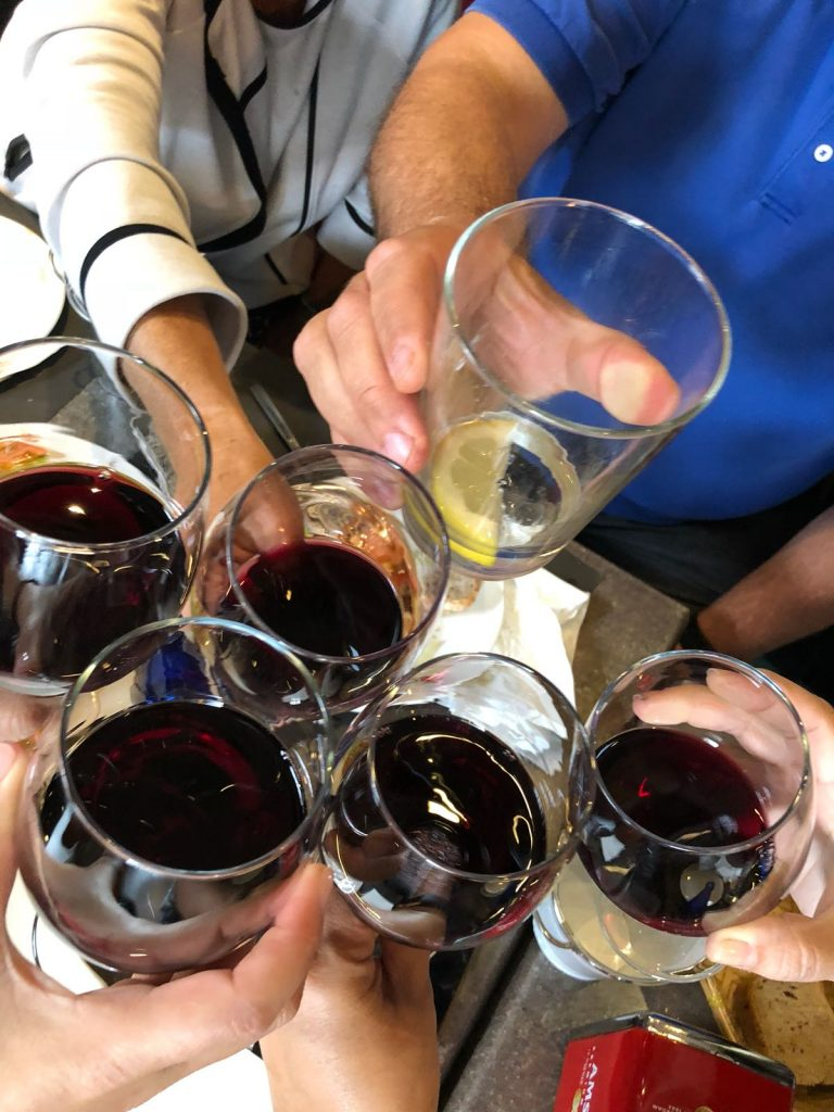 Group Share a drink on Camino