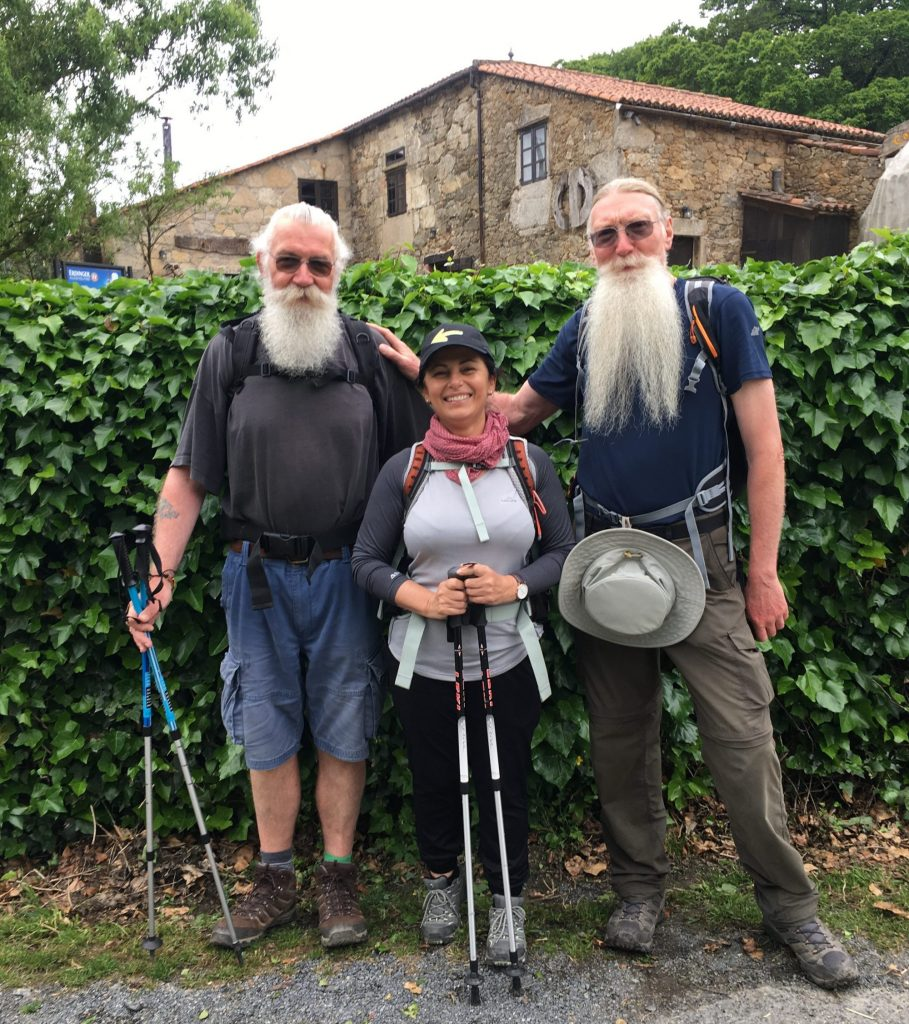 Making friends with Pilgrims on Camino