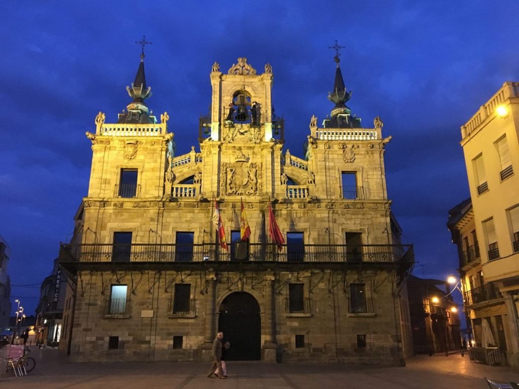 Group make it to Astorga